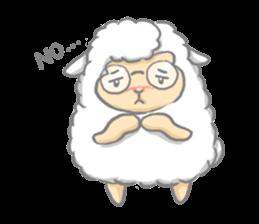 Nerdy Llama sticker #3712895