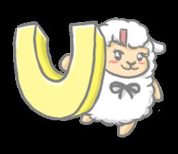 Nerdy Llama sticker #3712898