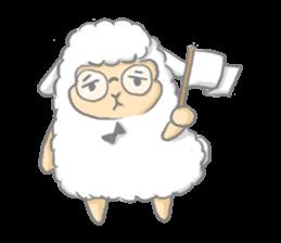 Nerdy Llama sticker #3712901