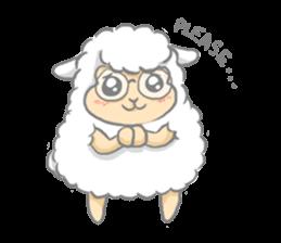 Nerdy Llama sticker #3712902