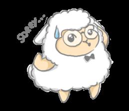 Nerdy Llama sticker #3712903