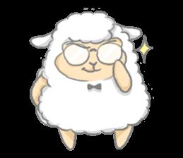 Nerdy Llama sticker #3712904
