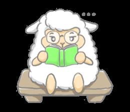Nerdy Llama sticker #3712906