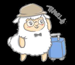 Nerdy Llama sticker #3712908