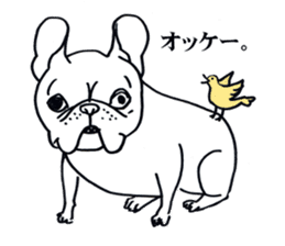 French bull POTATO sticker #3732113