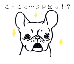 French bull POTATO sticker #3732120
