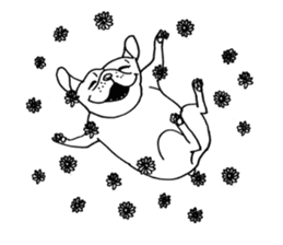 French bull POTATO sticker #3732129
