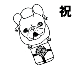 French bull POTATO sticker #3732136