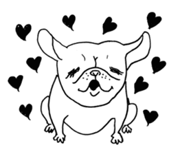 French bull POTATO sticker #3732141