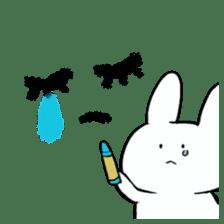 graffiti of rabbit sticker #3736571