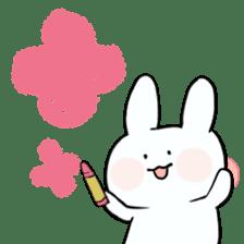 graffiti of rabbit sticker #3736577