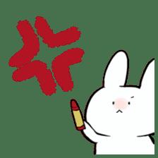 graffiti of rabbit sticker #3736578
