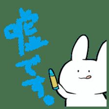 graffiti of rabbit sticker #3736586