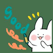 graffiti of rabbit sticker #3736593