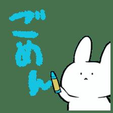 graffiti of rabbit sticker #3736596
