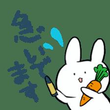 graffiti of rabbit sticker #3736602