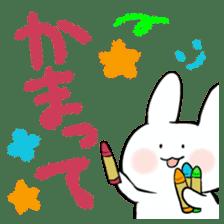 graffiti of rabbit sticker #3736604