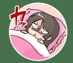 YAOI fan girl sticker sticker #3740689