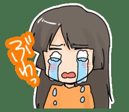 YAOI fan girl sticker sticker #3740690