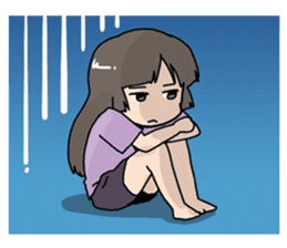 YAOI fan girl sticker sticker #3740693