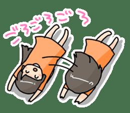 YAOI fan girl sticker sticker #3740723