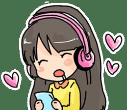 YAOI fan girl sticker sticker #3740724