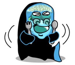 Macropinna microstoma LINE Sticker sticker #3741056