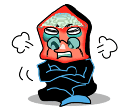 Macropinna microstoma LINE Sticker sticker #3741070