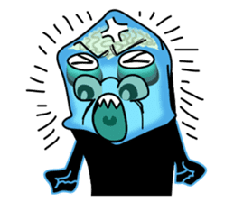 Macropinna microstoma LINE Sticker sticker #3741072