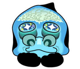 Macropinna microstoma LINE Sticker sticker #3741074