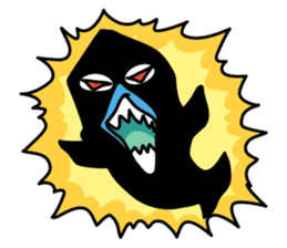 Macropinna microstoma LINE Sticker sticker #3741077