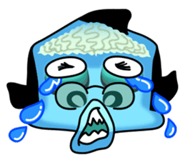 Macropinna microstoma LINE Sticker sticker #3741081