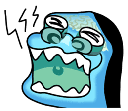 Macropinna microstoma LINE Sticker sticker #3741083