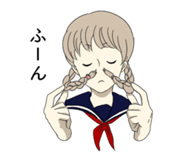 Tomboy and Bobbed sticker #3746377