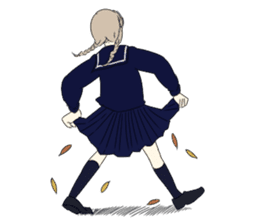 Tomboy and Bobbed sticker #3746388