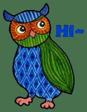 OWL Museum 3 sticker #3746407