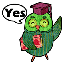OWL Museum 3 sticker #3746409