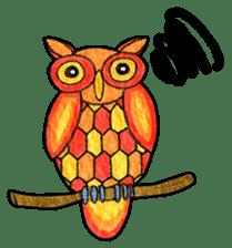 OWL Museum 3 sticker #3746414
