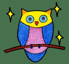 OWL Museum 3 sticker #3746415