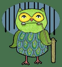 OWL Museum 3 sticker #3746416