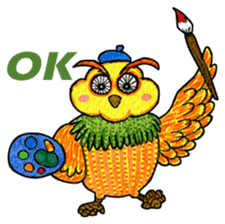 OWL Museum 3 sticker #3746419