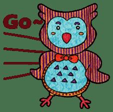 OWL Museum 3 sticker #3746420