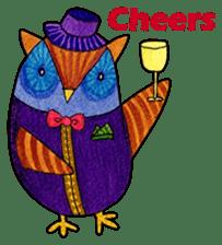 OWL Museum 3 sticker #3746422