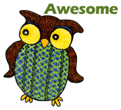 OWL Museum 3 sticker #3746424