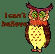 OWL Museum 3 sticker #3746425