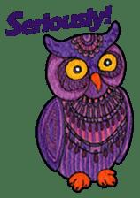 OWL Museum 3 sticker #3746426
