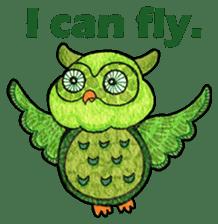 OWL Museum 3 sticker #3746430