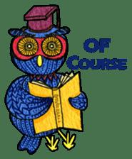 OWL Museum 3 sticker #3746432
