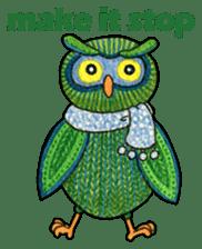 OWL Museum 3 sticker #3746434