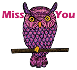 OWL Museum 3 sticker #3746437